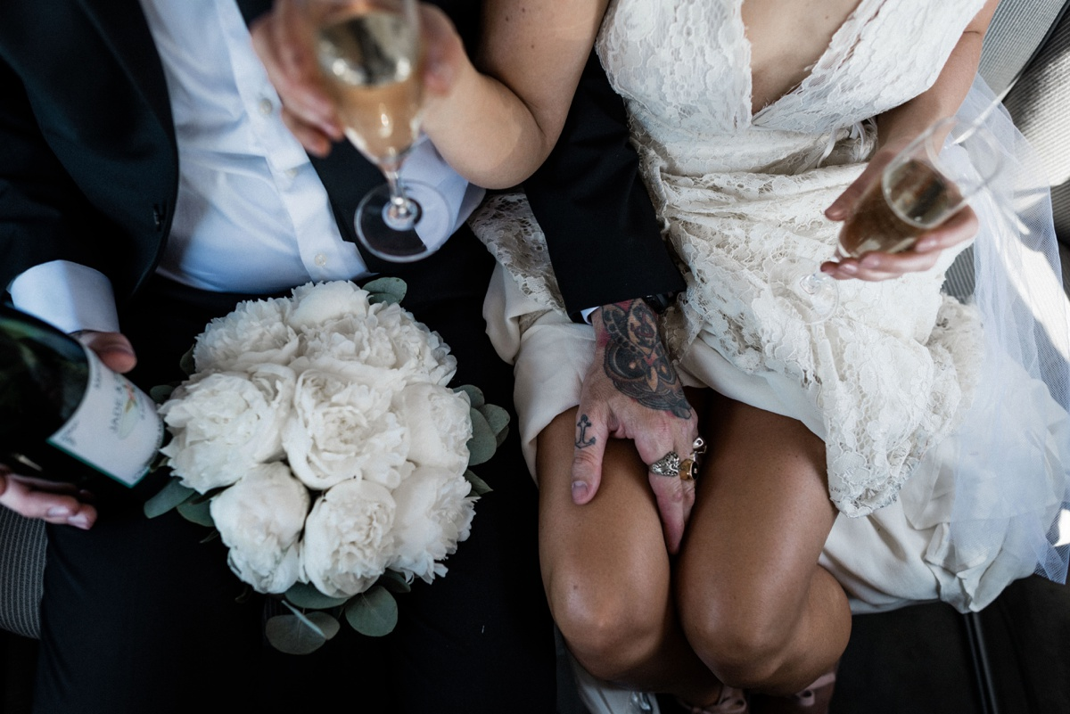 Un mariage rocknroll en france