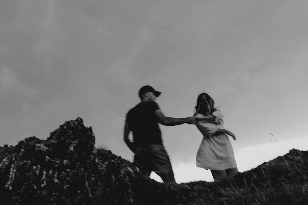 Une séance couple en montagne